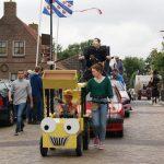 Versierde wagens dorpsfeest Alde Leie 2019