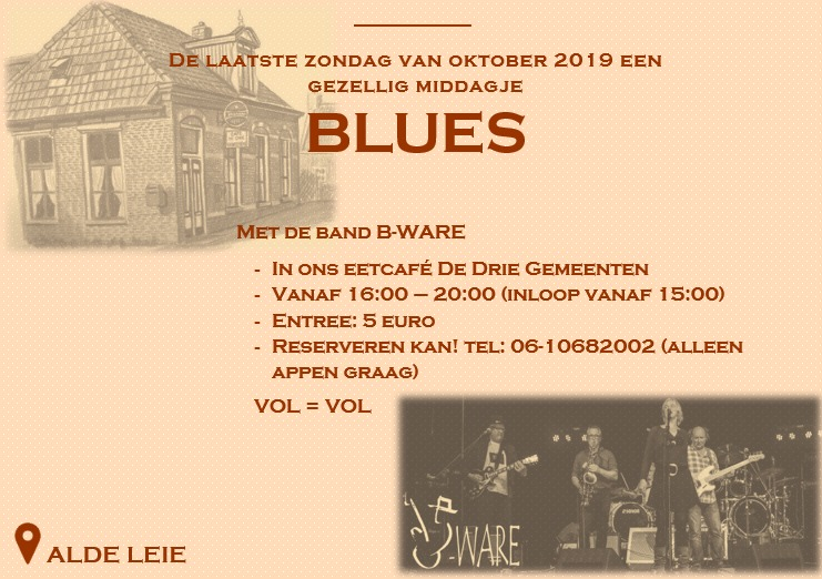 Blues in Alde Leie
