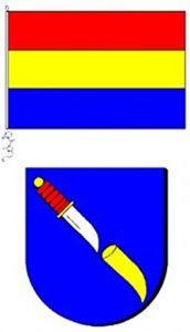 Wapen en vlag van Alde Leie