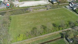 Foto's drone Omrop Fryslân 22 april 2020 - Fryslan fan Boppen