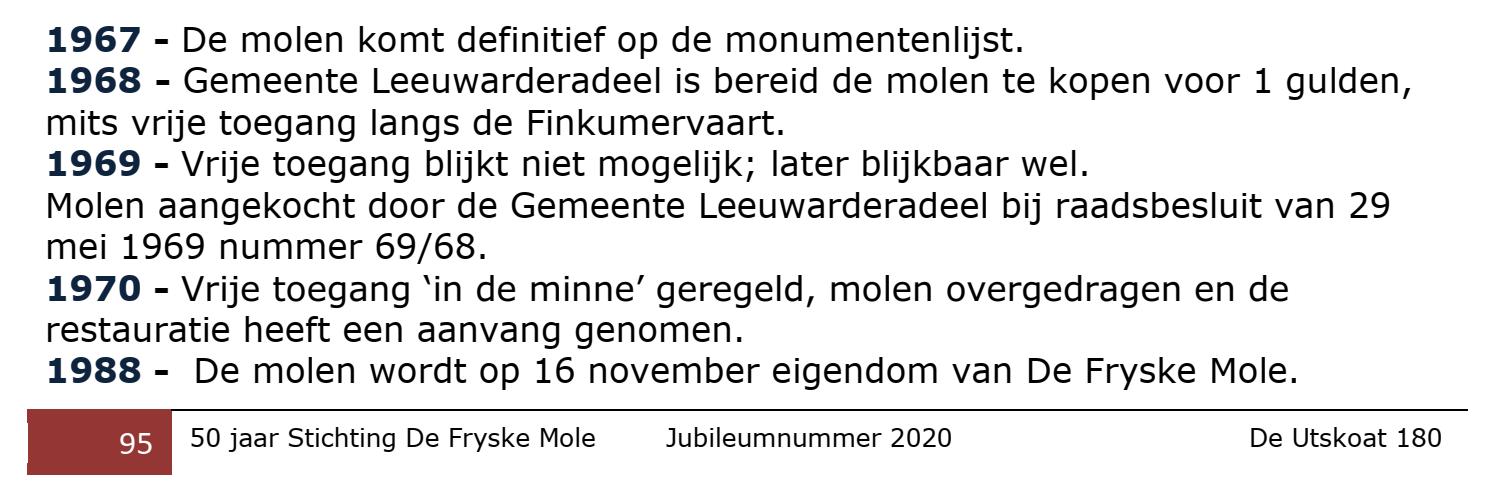 Balkendstermolen Jubileumnummer 2020
